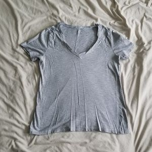 Relaxed-Fit V-Neck Tee
